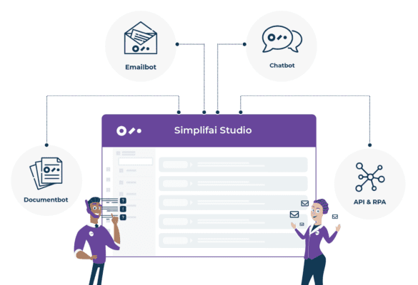 Simplifai Studio for Digital Employees, Emailbot, Documentbot and Chatbot